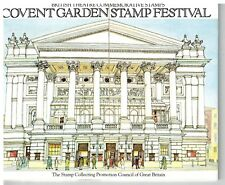 COVENT GARDEN STAMP FESTIVAL 1982 theatre stamps PRIVATE PRESENTATION PACK PP