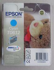 CARTUCCIA EPSON CYAN CIANO T0612 ORIGINALE per Serie D68 - D88 - DX3800 - DX4200
