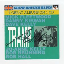 "Bob Hall Signed Tramp ""British Blues Giants"" CD Jacket. PSA/DNA* (A1714)"