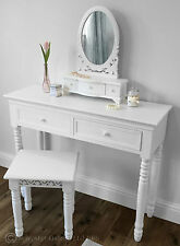 French Country Dressing Tables with Mirror