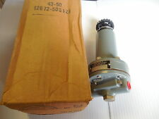 "NEW MOORE NULLMATIC PRESSURE REGULATOR 43-50 4350 12672-50S1AD 1/4"" NPT"