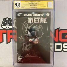 Dark Nights: Metal 2 CGC 9.8 SS Greg Capullo, Jonathan Glapion, Scott Snyder...