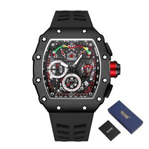 Swiss Made Tourbillon Homage MEN'S Watch Automatic Movement 2021 FREE shipping