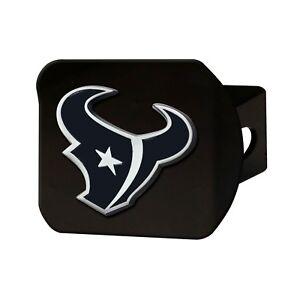 Fanmats NFL Houston Texans 3D Chrome on Black Metal Hitch Cover Del. 2-4 Days