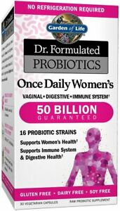 Dr. Formulated Probiotics Once Daily Women's by Garden of Life, 30 capsule