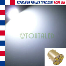 AMPOULE LAMPE 12V BA15S P21W 6 LED 5630 BLANC XENON BATEAU CAMPING CAR CARAVANE