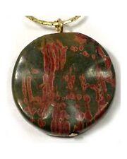 19thC Antique 31ct Jasper Medieval Snake Spider Poison Evil Spirits Rain Amulet