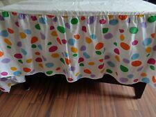 Barney Sesame Street Twin Sized Bedskirt w ruffle Bibb Co Preowned