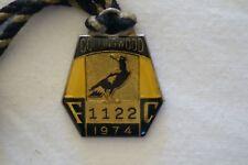 Collingwood - Vintage - 1974 - Members Badge - Hard to Find.