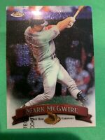 MARK MCGWIRE 1998 Topps Finest W/ Protector #145 Oakland St. Louis Cardinals