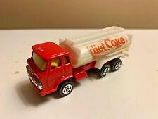 DIET COCA COLA Officially Licensed Diecast Tanker Truck DIET COKE Caffeine Free