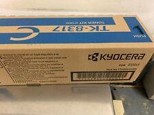 Genuine Kyocera TK-8317 Cyan Toner Cartridge