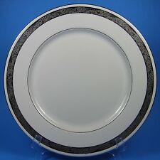 Flintridge China ELEGANTE Dinner Plate (s) Platinum Trim Bon-Lite USA