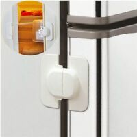 1xSTRONG Fridge Freezer Lock Latch Child Proof Safety Babyproofing Baby Toddler
