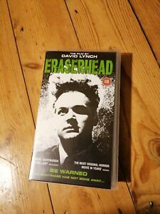 ERASERHEAD VHS Video (Excellent Condition)  18 DAVID LYNCH 4 Front 1999