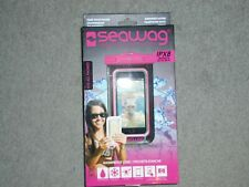 SEAWAG IPX8 Pink 100% Waterproof Phone Case w Neck Strap Fits All Phones - NEW