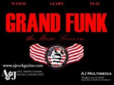 Custom Guitar Lessons, Learn Grand Funk - DVD Video