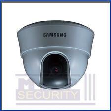 "Samsung SCD-1020PD 1/3"" Sony CCD, 600TVL, 3.6mm Lens Dome Camera FOC UK DEL CCTV"