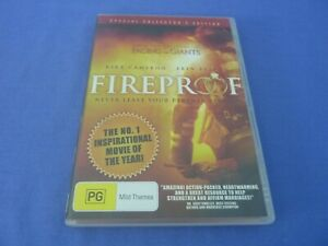 Fireproof DVD Collector's Edition Kirk Cameron Erin Beth Region O Free Post