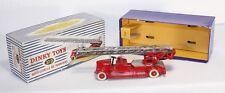 Dinky toys 32 d, auto-échelle de pompier, Comme neuf Dans Box #ab1465