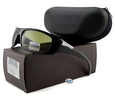 Serengeti FASANO 7704 Polarized Sunglasses | Shiny Black / Polar PhD 555nm Lens