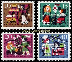 EBS Berlin 1964 Grimms Fairy Tales (I) - Sleeping Beauty - Michel 237-240 MNH**