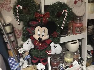 Disney Christmas Door Wreath