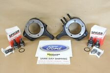 FORD FLAT TOP KNUCKLE SET 3/4 TON DANA 44 1976 - 1979 DANA SPICER BALL JOINTS