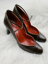 Christian Dior Saks Fifth Avenue Vintage High Heels Vtg Made in Spain 7 1/2 Aa