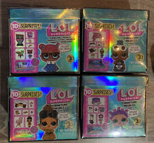4 LOL Surprise Series 3 Doll Furniture Sets School Sleepover Roller Office toys