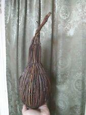 Folk Art Gourd Primitive Willow Crafts Vintage Wood Twigs Branches Handmade Art