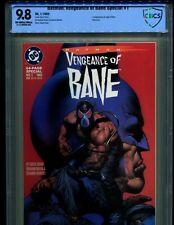 BATMAN: VENGEANCE OF BANE SPECIAL 1 CBCS 9.8! ORIGIN & 1ST BANE! LIKE CGC!!!!!!!