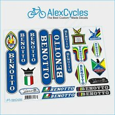 Rare Vintage Benotto Campagnolo Restoration Decals Kit Ride New + Gift Stickers