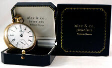 Waltham Gold Filled 15 Jewel Pocket Watch Working Warranted B&B Royal 20 years