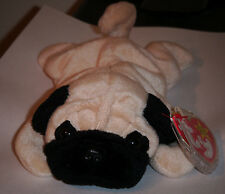 Ty Beanie Baby ~ PUGSLY the Pug Dog ~ MINT with MINT TAGS ~ RETIRED