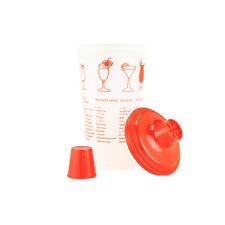 30oz. Red Recipe Shaker