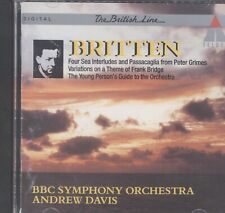 Britten: The Young Person's Guide to the Orchestra CD
