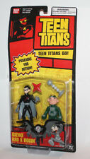 Bandai Teen Titans Bandai 3.5 Red Card - Gizmo & Red X Robin Carded Figure Pack