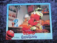 ELMO IN GROUCHLAND lobby card #7 ELMO, BIG BIRD