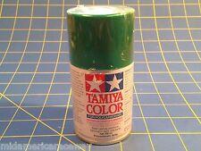Tamiya PS-17 Metallic Green Polycarbonate Spray Can 3 Paint # 86015 Mid-America