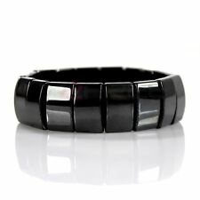 Magnetic Hematite Bracelet Pain Relief Energy Powerful Elastic G3