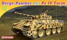 Dragon 1:72 7508: Berge-Panther mit Pz.IV Turm