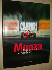 BOOK MONZA STORIE DI UOMINI E MACCHINE STORIES OF MEN AND CARS F1 FORMULA 1