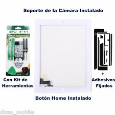 Pantalla Tactil Para iPad 2 Cristal Digitalizador Touch Screen digitizer Blanca