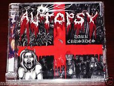 Autopsy Dark Crusades CD + DVD 2 Disc Set 2010 Peaceville UK Super Jewel Box NEW
