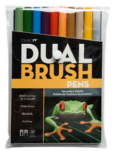 Tombow Dual Brush Markers - 10pcs - Secondary