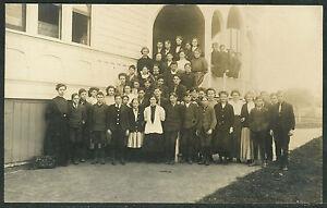 RP School Class at Woodburn Oregon - 7th & 8th Grade 1908  -  P649