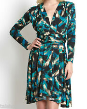 NEW L $198 Ravon By Von Vonni Slimming Transformer Infinity Wrap Career Dress