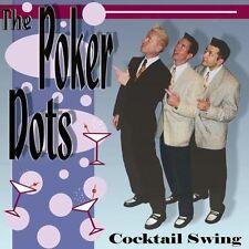 POKER DOTS Cocktail Swing CD - Jive Rock 'n' Roll, Rockabilly Keytones style NEW