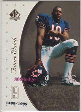 1999 SP AUTHENTIC ROOKIE CARD RC #112: D'WAYNE BATES #1488/1999 CHICAGO BEARS